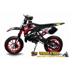 "Coyote 50cc Dirt Bike - Disc Brakes - 10"" Wheels - Speed Restrictor - Kill Switch"
