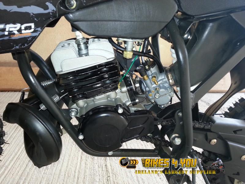 Professional Dirt Bike 9hp 2 Stroke 12k Rpm Engine 14 12
