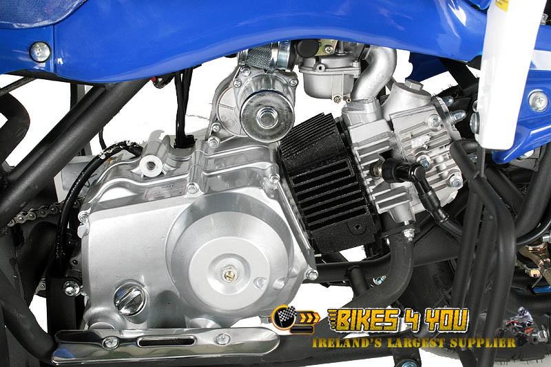 Panthera 3G8 Light 125cc - 3 Speed Semi-Automatic + Reverse - 3x