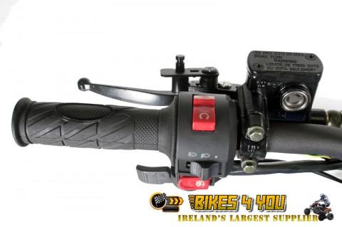 Panthera 3G8 Light 125cc - 3 Speed Semi-Automatic + Reverse