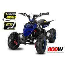 "Repti 800W / 36V Electric Quad - 3 Level Speed Control - 3x12V Batteries 6"" Wheels - Great Quality!"