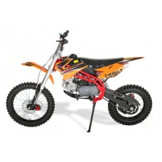 Sky 125cc Deluxe Dirt Bike - 4 Stroke - 17/14 Wheels - 4 Gears Manual - Kick Start - Hydraulic Disc Brakes