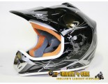 Xtreme Motocross Helmet - Black - Sizes: S M L