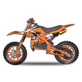 "Apollo 50cc Dirt Bike - Easy Pull Start  - Automatic - 10"" Wheels - Disc Brakes - 2017 Design"