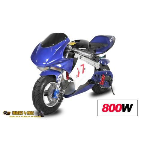 mini moto electric w v level speed control disc brakes xv