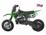 "NRG50 Professional Dirt Bike - 9HP 2 Stroke 12K RPM Engine - 10"" Wheels - Kick Start - Automatic"