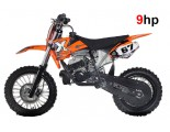 "NRG50 KTM Professional Dirt Bike - 9HP 2 Stroke 12K RPM Engine - 12/10"" Wheels - Kick Start - Automatic"