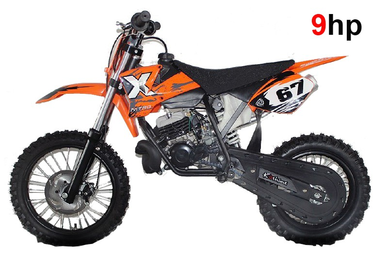 nrg50 ktm professional dirt bike 9hp 2 stroke 12k rpm engine 12 10 wheels kick start. Black Bedroom Furniture Sets. Home Design Ideas