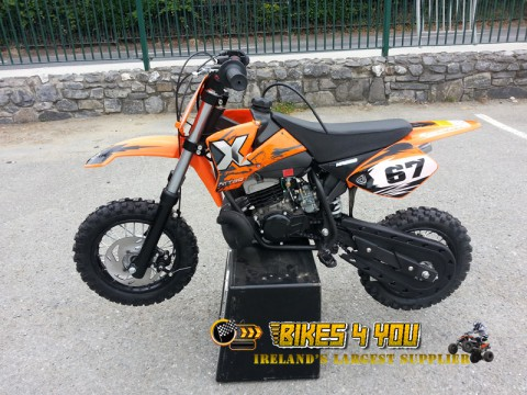NRG50 Professional Dirt Bike - 9HP 2 Stroke 12K RPM Engine