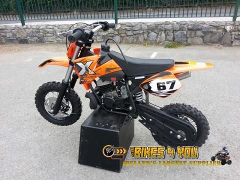 NRG50 Professional Dirt Bike - 9HP 2 Stroke 12K RPM Engine