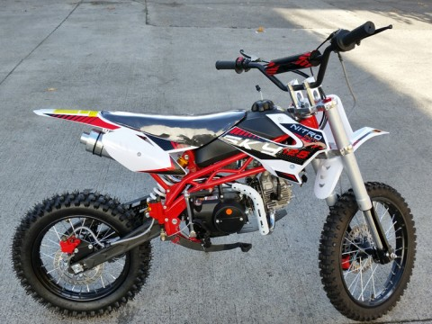 Sky 125cc Dirt Bike - 4 Stroke - 4 Gears Manual - Kick Start