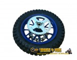 Mini dirt bike rear wheel 7inch